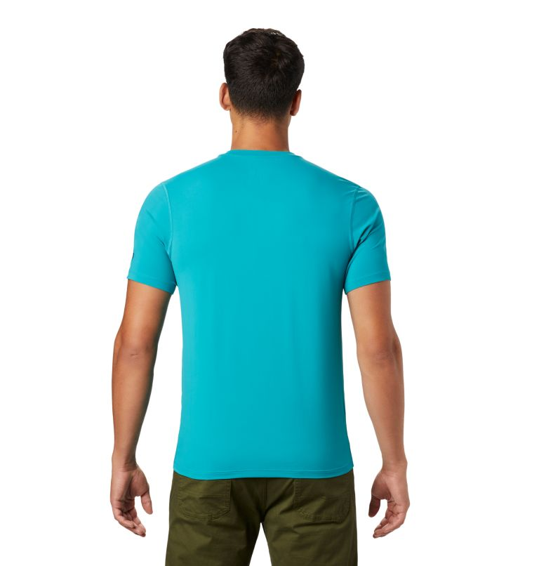 Crater Lake™ Short Sleeve T | 345 | L Men's Crater Lake™ Short Sleeve T-Shirt, Vivid Teal, back