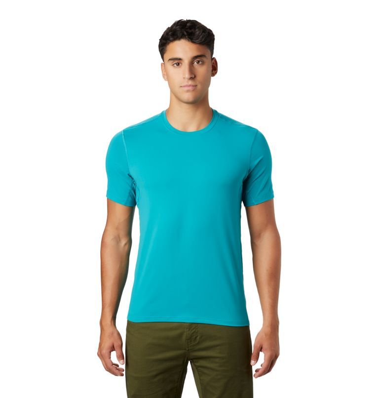 Crater Lake™ Short Sleeve T | 345 | L Men's Crater Lake™ Short Sleeve T-Shirt, Vivid Teal, front