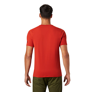 Men's Crater Lake™ Short Sleeve T-Shirt  Crater Lake™ Short Sleeve T | 345 | L, Desert Red, back
