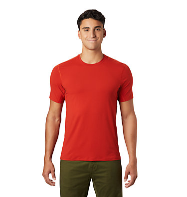 Men's Crater Lake™ Short Sleeve T-Shirt  Crater Lake™ Short Sleeve T | 345 | L, Desert Red, front