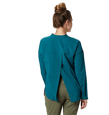 Women's Canyon Pro™ Popover Long Sleeve Shirt Canyon Pro™ Popover Long Sleev | 468 | S, Dive, back
