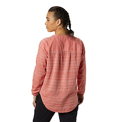 Women's Palisade™ Long Sleeve Shirt  Palisade™ Long Sleeve Shirt | 492 | L, Fiery Red, back