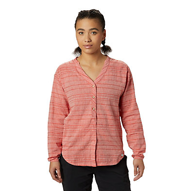 Women's Palisade™ Long Sleeve Shirt  Palisade™ Long Sleeve Shirt | 492 | L, Fiery Red, front