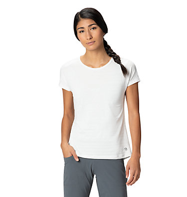 Women's Mighty Stripe™ Short Sleeve T-Shirt  Mighty Stripe™ Short Sleeve T | 447 | S, Fogbank, front