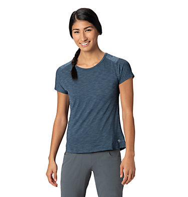 Women's Mighty Stripe™ Short Sleeve T-Shirt  Mighty Stripe™ Short Sleeve T | 447 | XL, Zinc, front