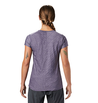 Women's Mighty Stripe™ Short Sleeve T-Shirt  Mighty Stripe™ Short Sleeve T | 447 | S, Dusted Sky, back
