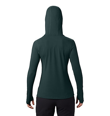 Chandail manches longues à capuchon Crater Lake™ Femme Crater Lake™ LS Hoody | 004 | L, Dark Storm, back