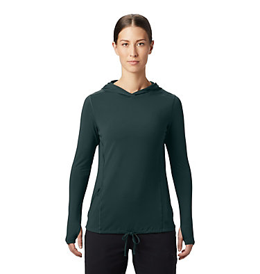 Women's Crater Lake™ LS Hoody Crater Lake™ LS Hoody | 057 | L, Dark Storm, front