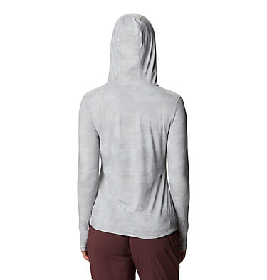 Women's Crater Lake™ LS Hoody Crater Lake™ LS Hoody | 057 | L, Light Dunes Woven Print, back