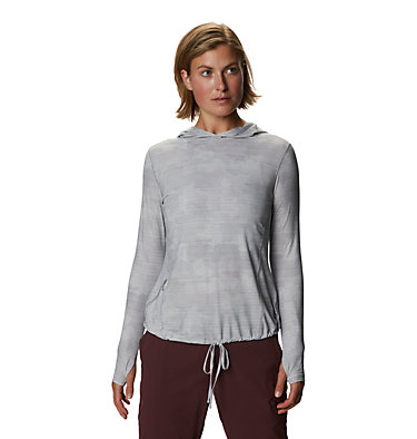Women's Crater Lake™ LS Hoody Crater Lake™ LS Hoody | 057 | L, Light Dunes Woven Print, front