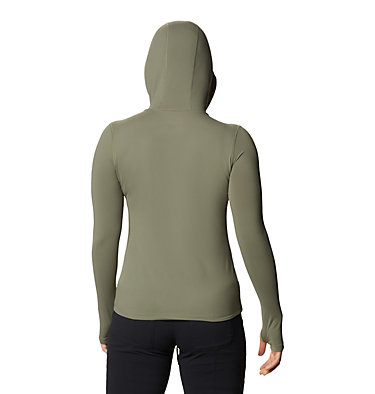 Women's Crater Lake™ LS Hoody Crater Lake™ LS Hoody   057   L, Light Army, back