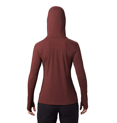Women's Crater Lake™ LS Hoody Crater Lake™ LS Hoody | 057 | L, Washed Raisin, back