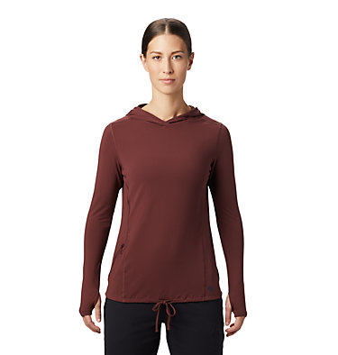 Women's Crater Lake™ LS Hoody Crater Lake™ LS Hoody | 057 | L, Washed Raisin, front