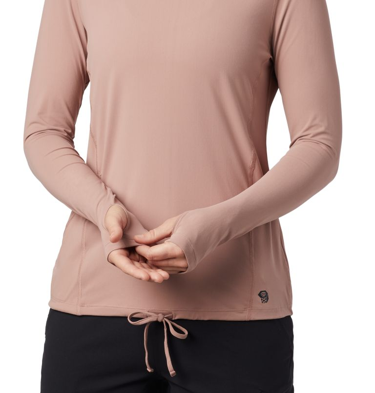 Crater Lake™ LS Hoody | 642 | M Women's Crater Lake™ LS Hoody, Smoky Quartz, a1