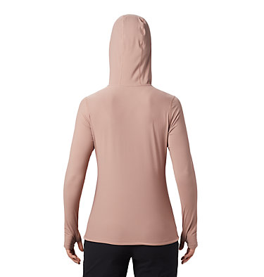 Women's Crater Lake™ LS Hoody Crater Lake™ LS Hoody | 057 | L, Smoky Quartz, back