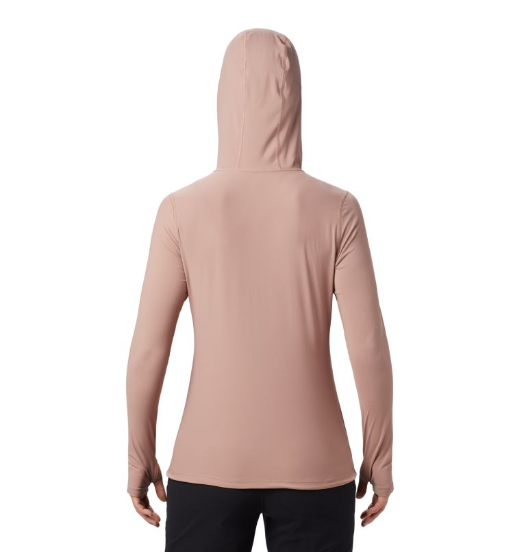 Crater Lake™ LS Hoody | 642 | M Women's Crater Lake™ LS Hoody, Smoky Quartz, back