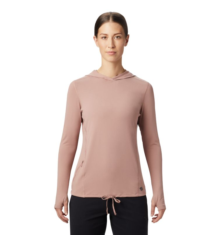 Crater Lake™ LS Hoody | 642 | M Women's Crater Lake™ LS Hoody, Smoky Quartz, front