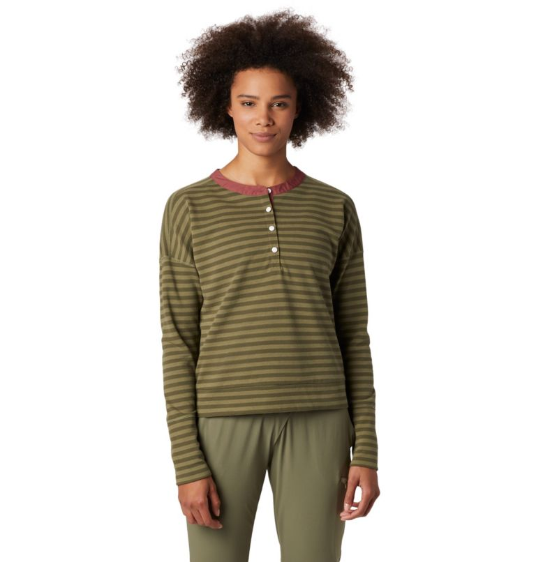 Pembroke™ Rugby Top | 333 | M Women's Pembroke™ Rugby Top, Light Army, front