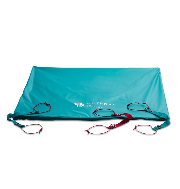 Outpost™ 2 Footprint | 301 | O/S Outpost™ 2 Footprint, Glacier Teal, front