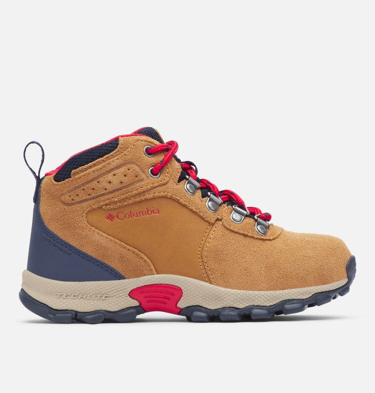 Big Kids' Newton Ridge™ Suede Waterproof Hiking Boot Big Kids' Newton Ridge™ Suede Waterproof Hiking Boot, front
