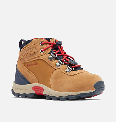 Little Kids' Newton Ridge™ Suede Boot CHILDRENS NEWTON RIDGE™ SUEDE | 286 | 10, Elk, Mountain Red, 3/4 front