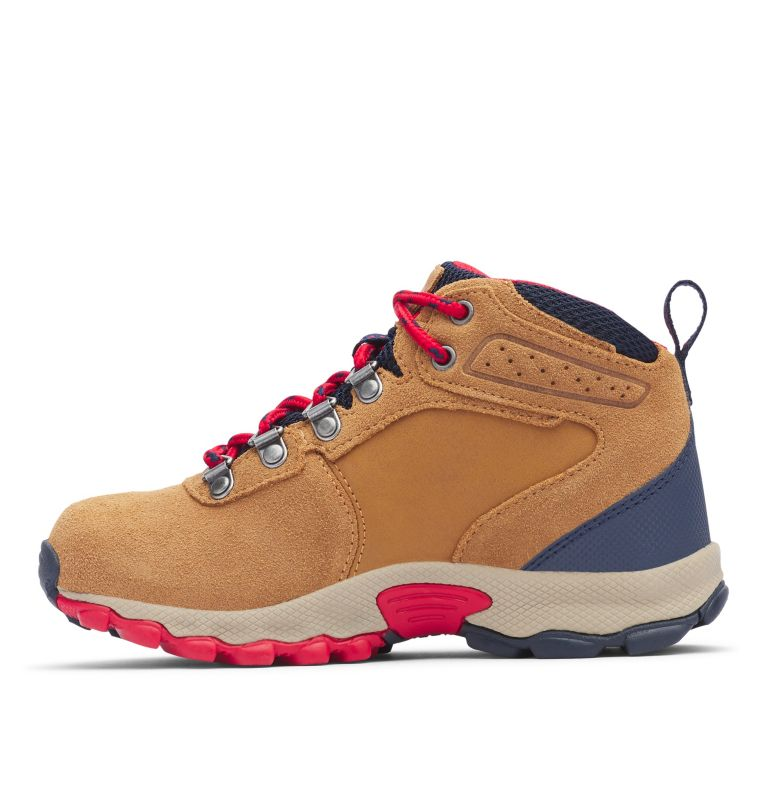 Big Kids' Newton Ridge™ Suede Waterproof Hiking Boot - Wide Big Kids' Newton Ridge™ Suede Waterproof Hiking Boot - Wide, medial