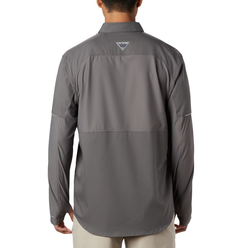 Men's PFG Force XII Zero™ Long Sleeve Hybrid Shirt Men's PFG Force XII Zero™ Long Sleeve Hybrid Shirt, back