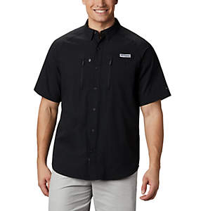Men's PFG Terminal Tackle™ Short Sleeve Woven Shirt