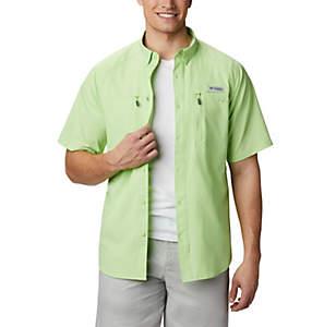 Men's PFG Terminal Tackle™ Short Sleeve Woven Shirt