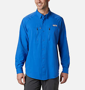 Men's PFG Terminal Tackle™ Long Sleeve Woven Shirt