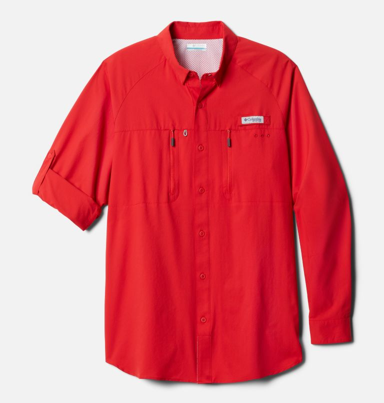 Men's PFG Terminal Tackle™ Long Sleeve Woven Shirt Men's PFG Terminal Tackle™ Long Sleeve Woven Shirt, front