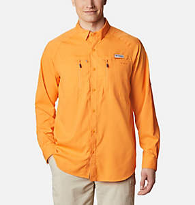 Men's PFG Terminal Tackle™ Long Sleeve Woven Shirt