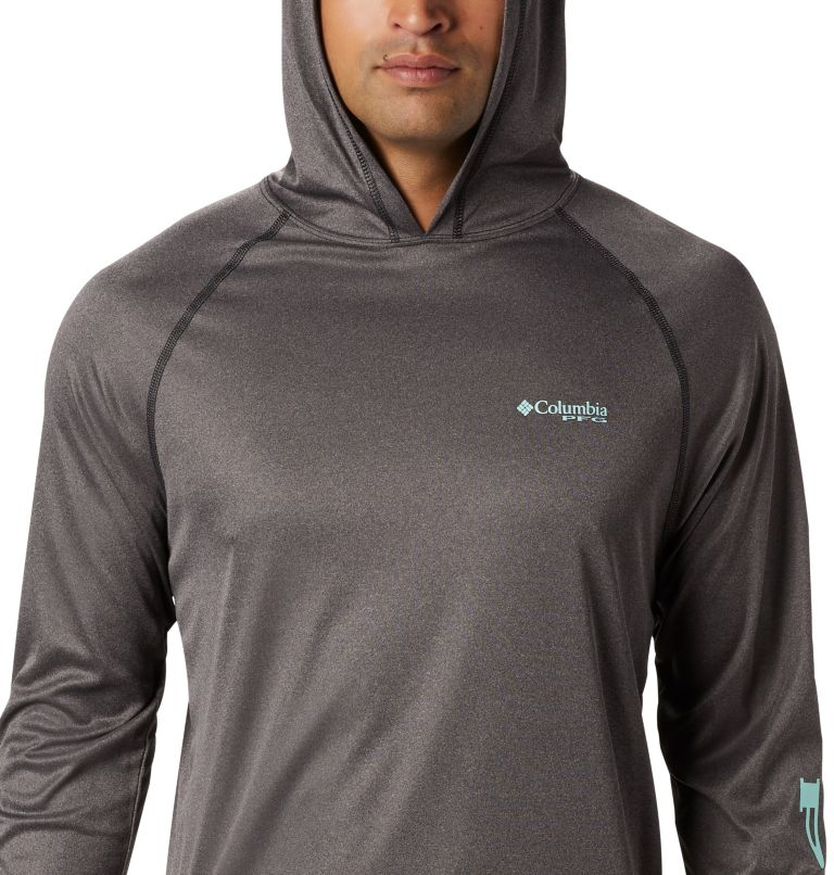 Men's PFG Terminal Tackle™ Heather Hoodie Men's PFG Terminal Tackle™ Heather Hoodie, a2