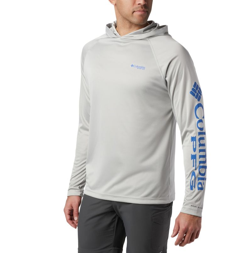Men's PFG Terminal Tackle™ Heather Hoodie Men's PFG Terminal Tackle™ Heather Hoodie, front