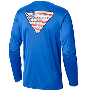 Men's PFG Terminal Tackle State Triangle™ Long Sleeve Shirt