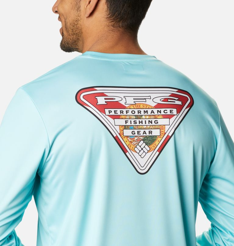 Men's PFG Terminal Tackle™ State Triangle Long Sleeve Shirt Men's PFG Terminal Tackle™ State Triangle Long Sleeve Shirt, a3