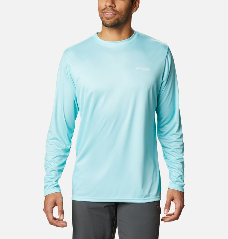 Men's PFG Terminal Tackle™ State Triangle Long Sleeve Shirt Men's PFG Terminal Tackle™ State Triangle Long Sleeve Shirt, back
