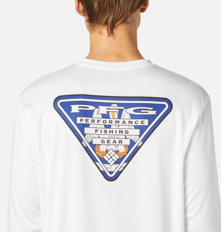 Men's PFG Terminal Tackle State Triangle™ Long Sleeve Shirt - Big Men's PFG Terminal Tackle State Triangle™ Long Sleeve Shirt - Big, a2