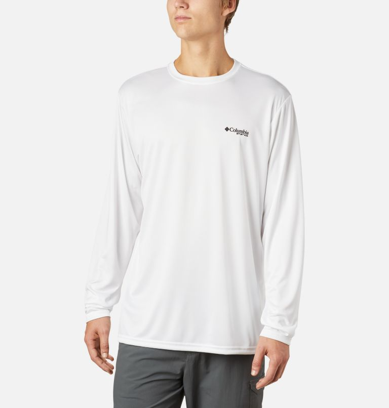 Men's PFG Terminal Tackle State Triangle™ Long Sleeve Shirt - Big Men's PFG Terminal Tackle State Triangle™ Long Sleeve Shirt - Big, back