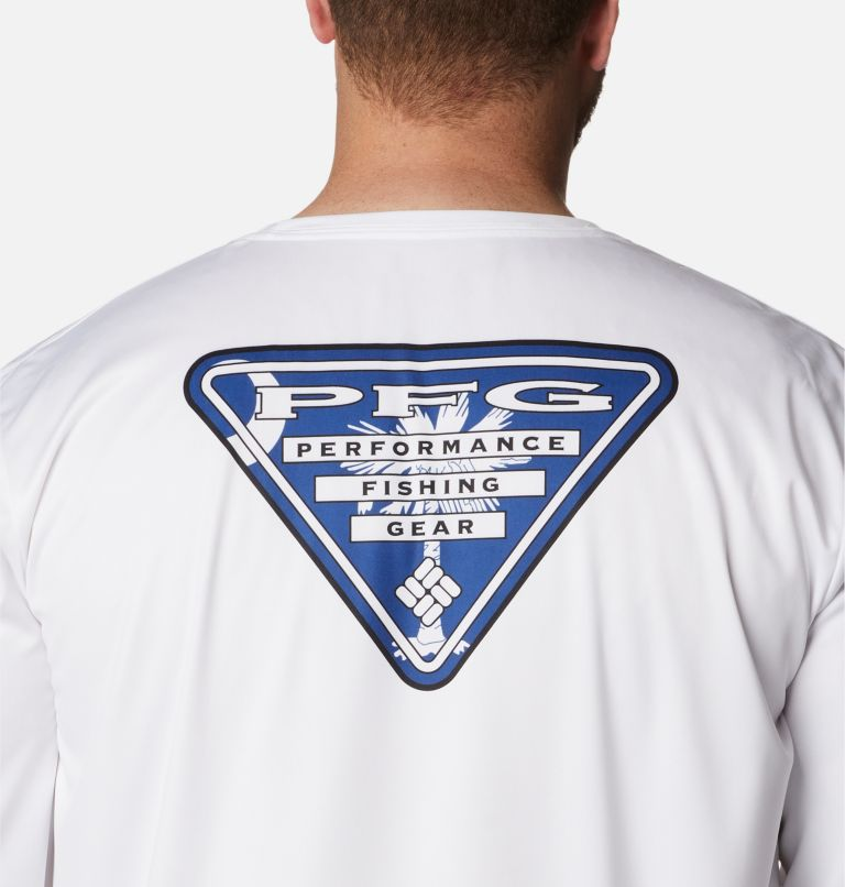 Men's PFG Terminal Tackle State Triangle™ Long Sleeve Shirt - Big Men's PFG Terminal Tackle State Triangle™ Long Sleeve Shirt - Big, a3