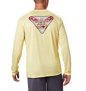 Men's PFG Terminal Tackle State Triangle™ Long Sleeve Shirt - Big