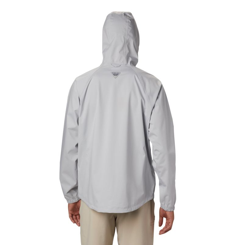 Tamiami Hurricane™ Jacket   019   XXL Men's PFG Tamiami Hurricane™ Jacket, Cool Grey, back