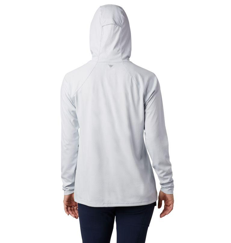 Tidal Deflector ZERO™ Hoodie | 031 | L Women's PFG Tidal Deflector Zero™ Hoodie, Cirrus Grey, back