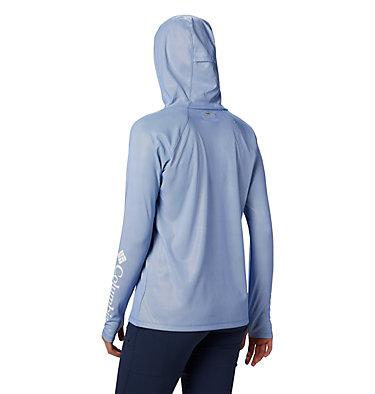 Women's PFG Tidal Deflector Zero Hoodie Tidal Deflector ZERO™ Hoodie | 426 | L, Stormy Blue, Cirrus Grey, back
