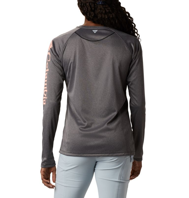 Women's PFG Tidal Tee™ Heather Long Sleeve Shirt Women's PFG Tidal Tee™ Heather Long Sleeve Shirt, back
