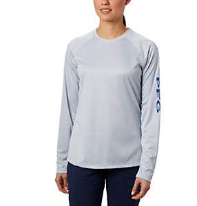 Women's PFG Tidal Tee™ Heather Long Sleeve Shirt