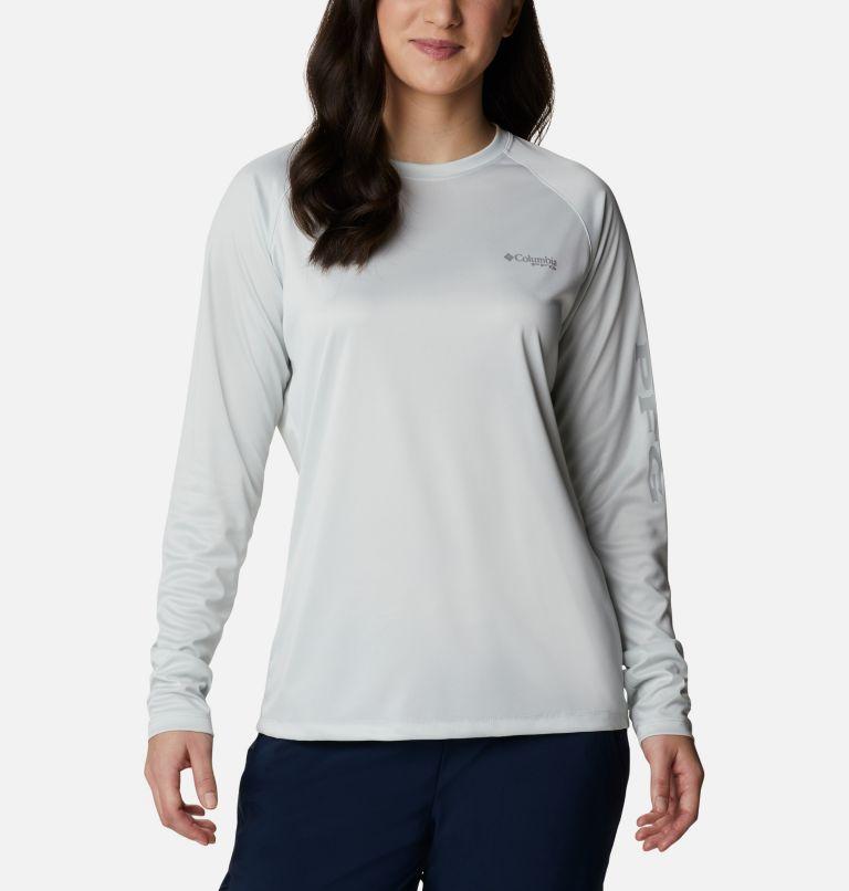 Women's PFG Tidal Tee™ Heather Long Sleeve Shirt Women's PFG Tidal Tee™ Heather Long Sleeve Shirt, front