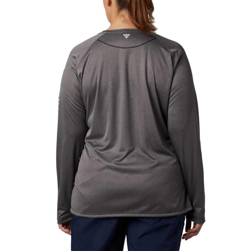 Women's Tidal Tee™ Heather Long Sleeve - Plus Size Women's Tidal Tee™ Heather Long Sleeve - Plus Size, back