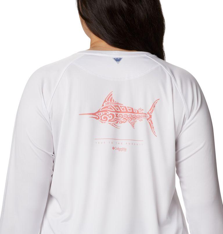 Women's PFG Tidal™ Tee Long Sleeve Printed Fish Shirt - Plus Size Women's PFG Tidal™ Tee Long Sleeve Printed Fish Shirt - Plus Size, a3