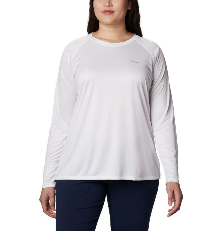 Women's PFG Tidal™ Tee Long Sleeve Printed Fish Shirt - Plus Size Women's PFG Tidal™ Tee Long Sleeve Printed Fish Shirt - Plus Size, back